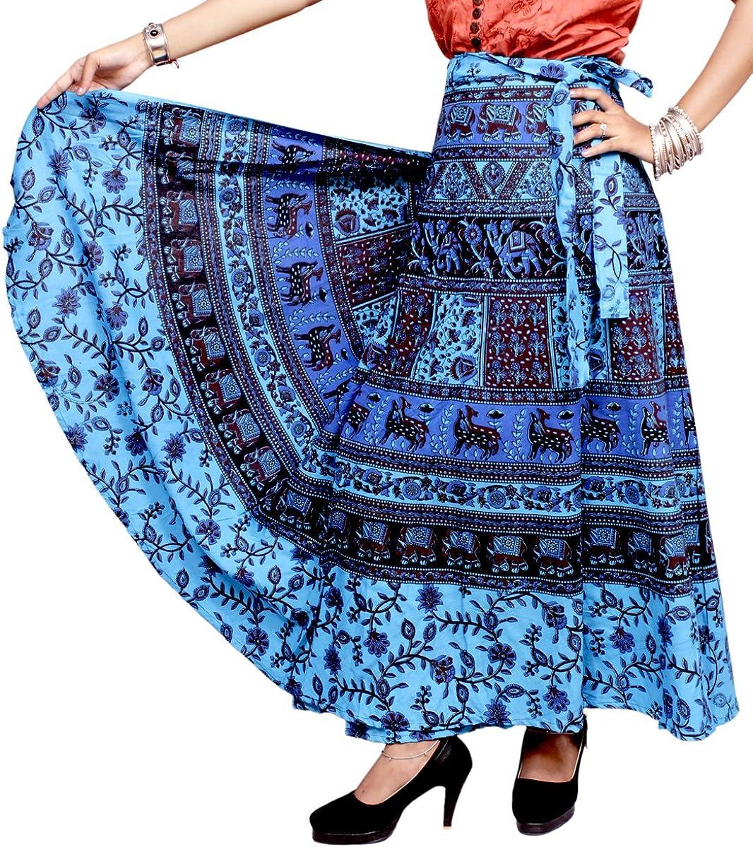 Falda larga circular impresiones estilo Ethnic, Hippie, Boho ...
