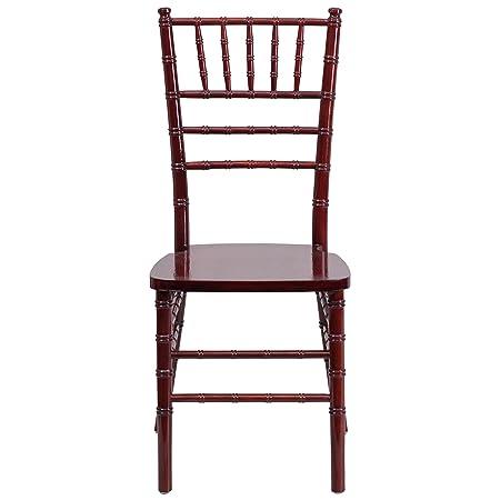 Amazon.com Flash Furniture HERCULES Series Mahogany Wood Chiavari Chair Kitchen u0026 Dining  sc 1 st  Amazon.com & Amazon.com: Flash Furniture HERCULES Series Mahogany Wood Chiavari ...