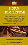 Horae Homileticae Commentary Volume 6 (All 21 Volumes Now In 7): A Discourses Digested Into One Continued Series, And Forming A Commentary Upon Every Book Of The Old And New Testament