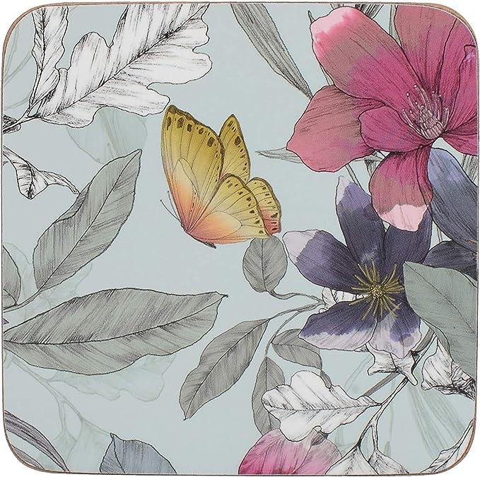 15x15 cm, 30x30 cm Sticker decoration nature plank board butterflies
