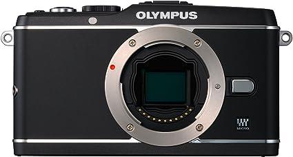 Olympus Pen E P3 Systemkamera 3 Zoll Gehäuse Schwarz Kamera