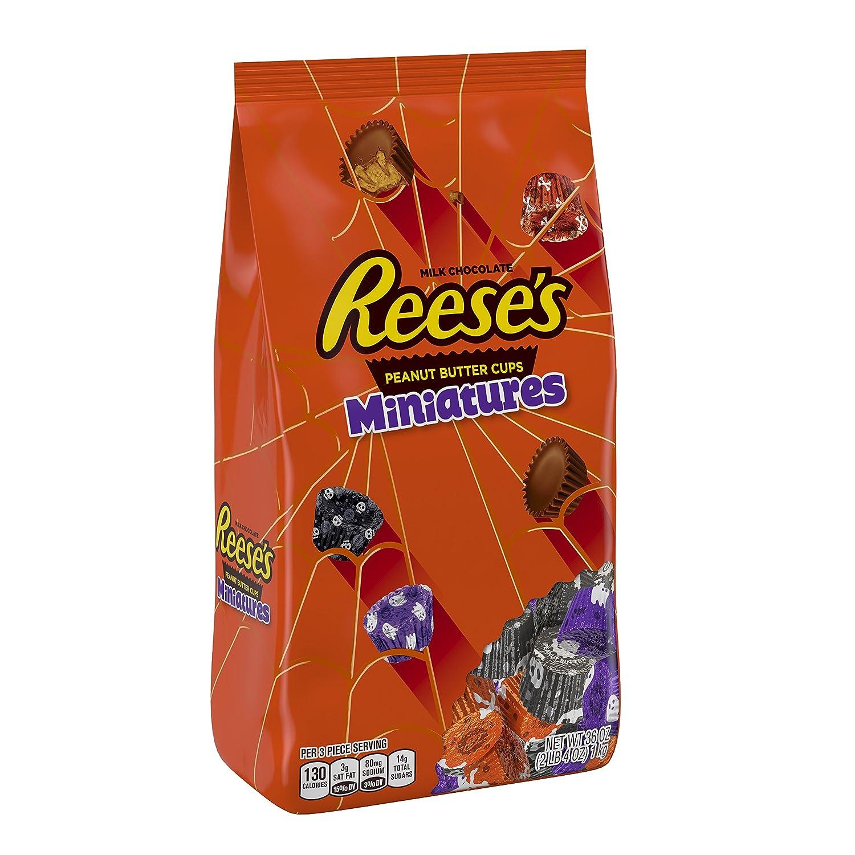 REESE'S Chocolate Peanut Butter Cup Miniatures, 36 Ounce bag, bulk candy