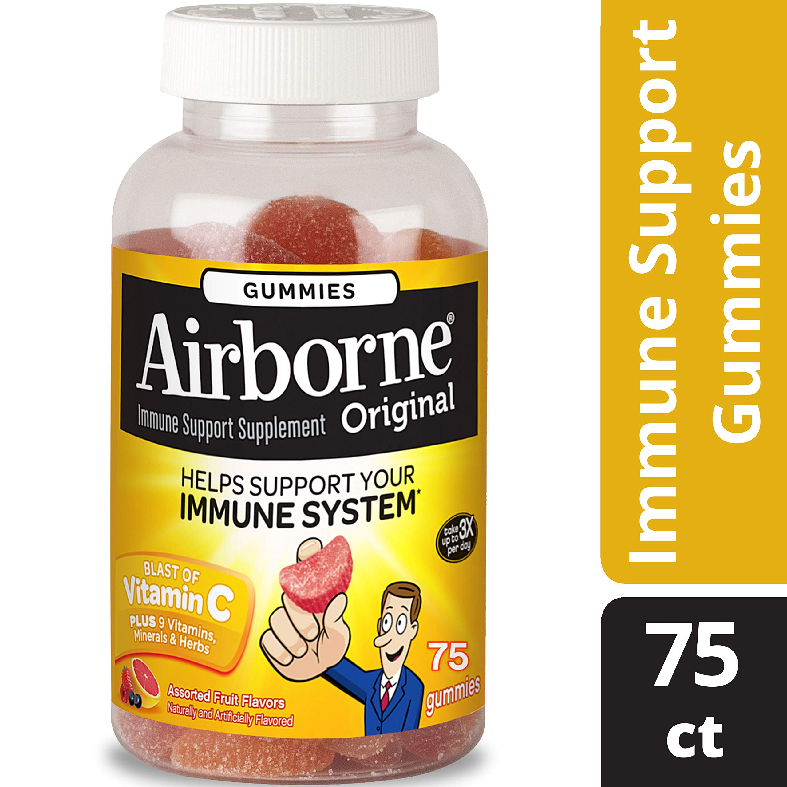 Airborne 75 Piece Immune Support Gummies, 15.71 Ounce
