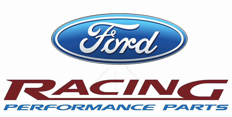 Sticker Designs 10cm 2stuck Aufkleber Folie Wetterfest Made In Germany Ford Racing Performance Parts Ae14 Uv Waschanlagenfest Auto Vinyl Sticker