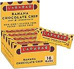 Larabar Fruit and Nut Bar Banana Chocolate Chip, Gluten Free, Vegan,