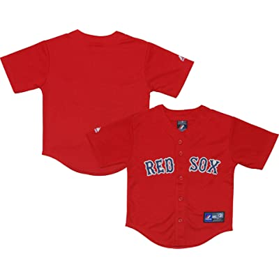 separation shoes d12c7 b6c5b Boston Red Sox Word Mark Red Kids Authentic Alternate Jersey ...