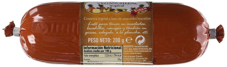 Granovita Vegancheese Tropical - 200 gr: Amazon.es: Alimentación y bebidas