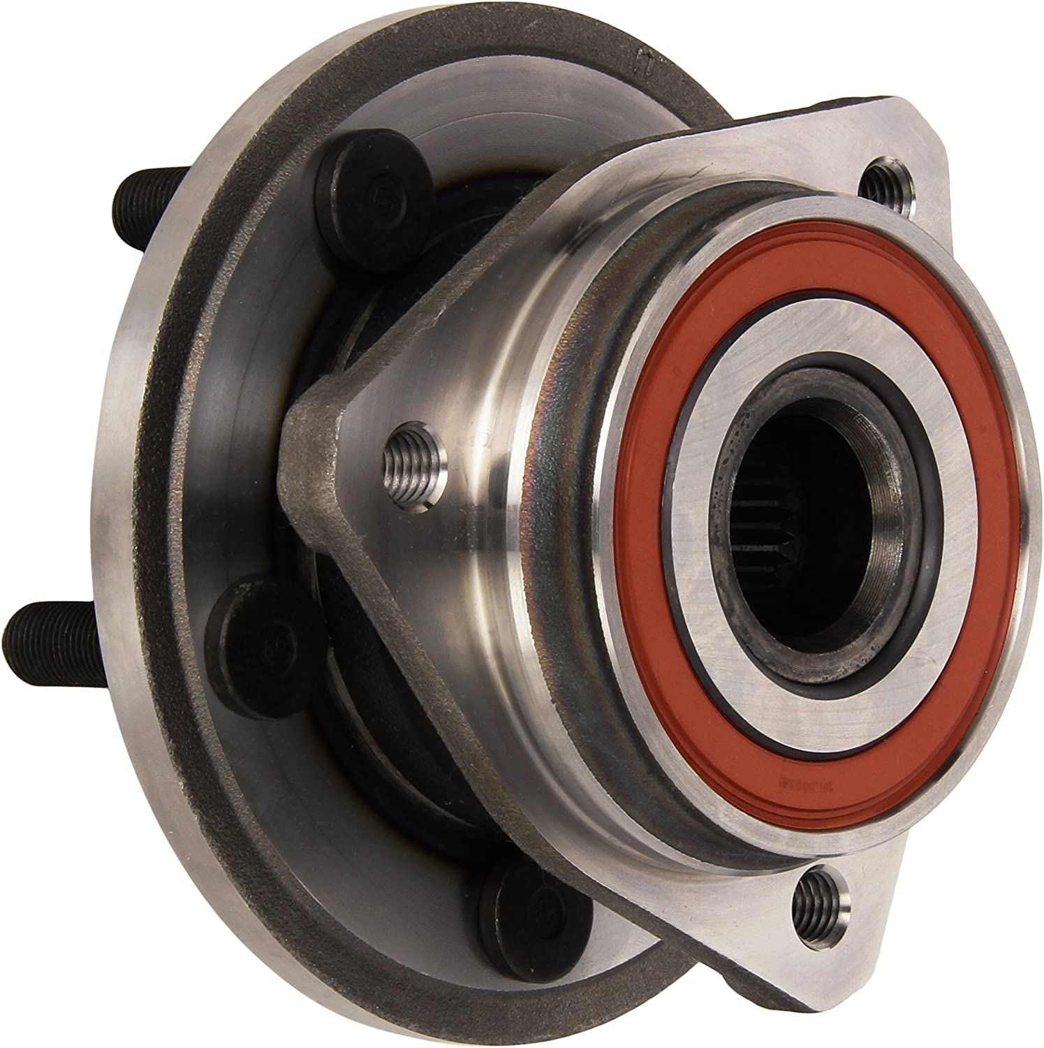 2003 fits Jeep TJ Front Wheel Bearing and Hub Assembly Left and Right Note: 4WD - Two Bearings Included with Two Years Warranty