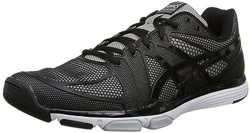 Zapatillas de entrenamiento Gel Exert TR para hombre Asics, Negro / Onyx / Lightning, 8,5 M EE. UU.: Amazon.es: Zapatos y complementos