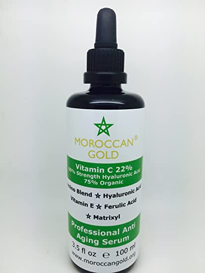 El MEJOR Serum con Vitamina C Para Su Rostro - Vitamina C 75% Orgánica +