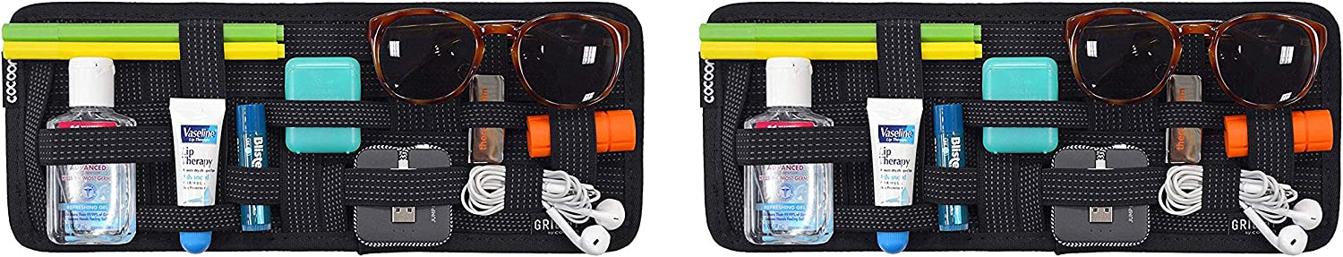 The Cocoon CPG30BK GRID-IT! Accessory Organizer - Sun Visor Organizer travel product recommended by Nadia on Lifney.