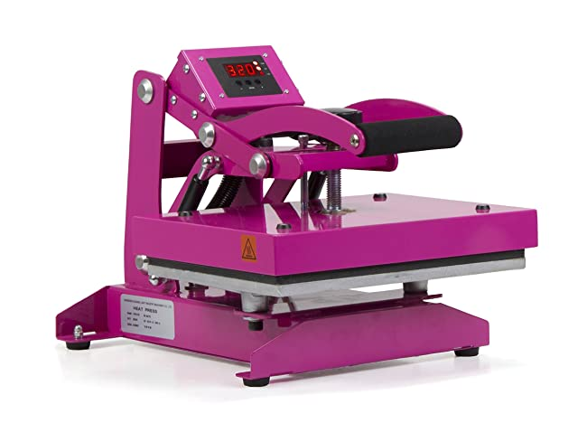 Hotronix Pink Craft Heat Press Review