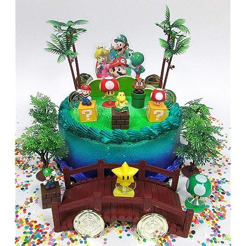 Mario Cake Decorations: Amazon.com