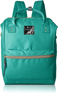 Anello Polyester Canvas Backpacks Japan import (E Green)