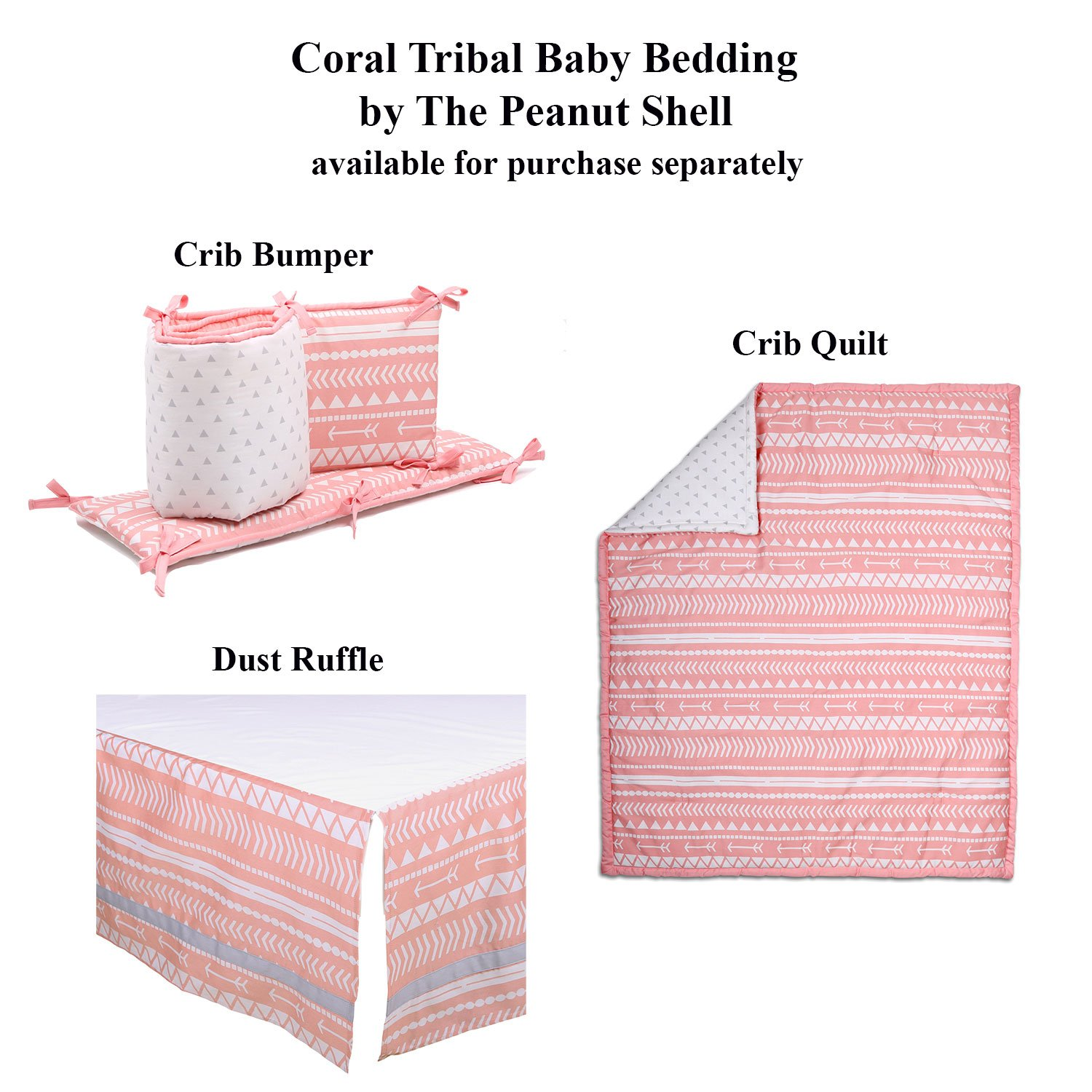 100/% Cotton Floral Damask Baby Girl Nursery and Toddler Bedding Coral Pink Medallion Fitted Crib Sheet
