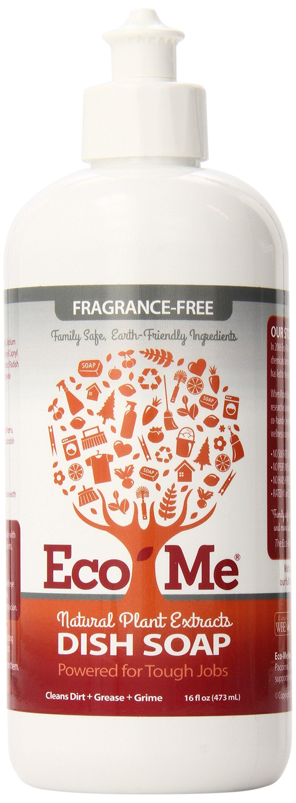 Eco-Me Dish Soap - Fragrance-Free,16 Oz