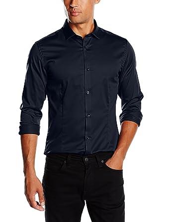 JACK & JONES PREMIUM Herren Slim Fit Business Hemd Jjprparma Shirt L/s Noos,