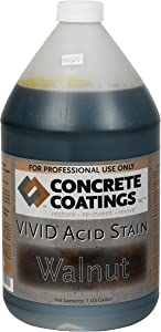 VIVID Acid Stain – 1 Gal – Walnut