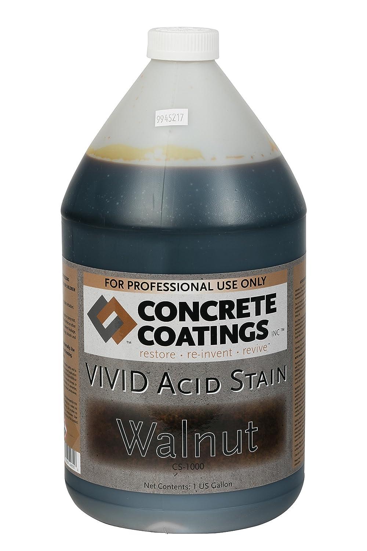 VIVID Acid Stain – 1 Gal – Walnut