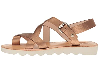 Pikolinos Womens Albufera Leather Split Toe Casual Ankle Strap, Bronce,  Size 7.5