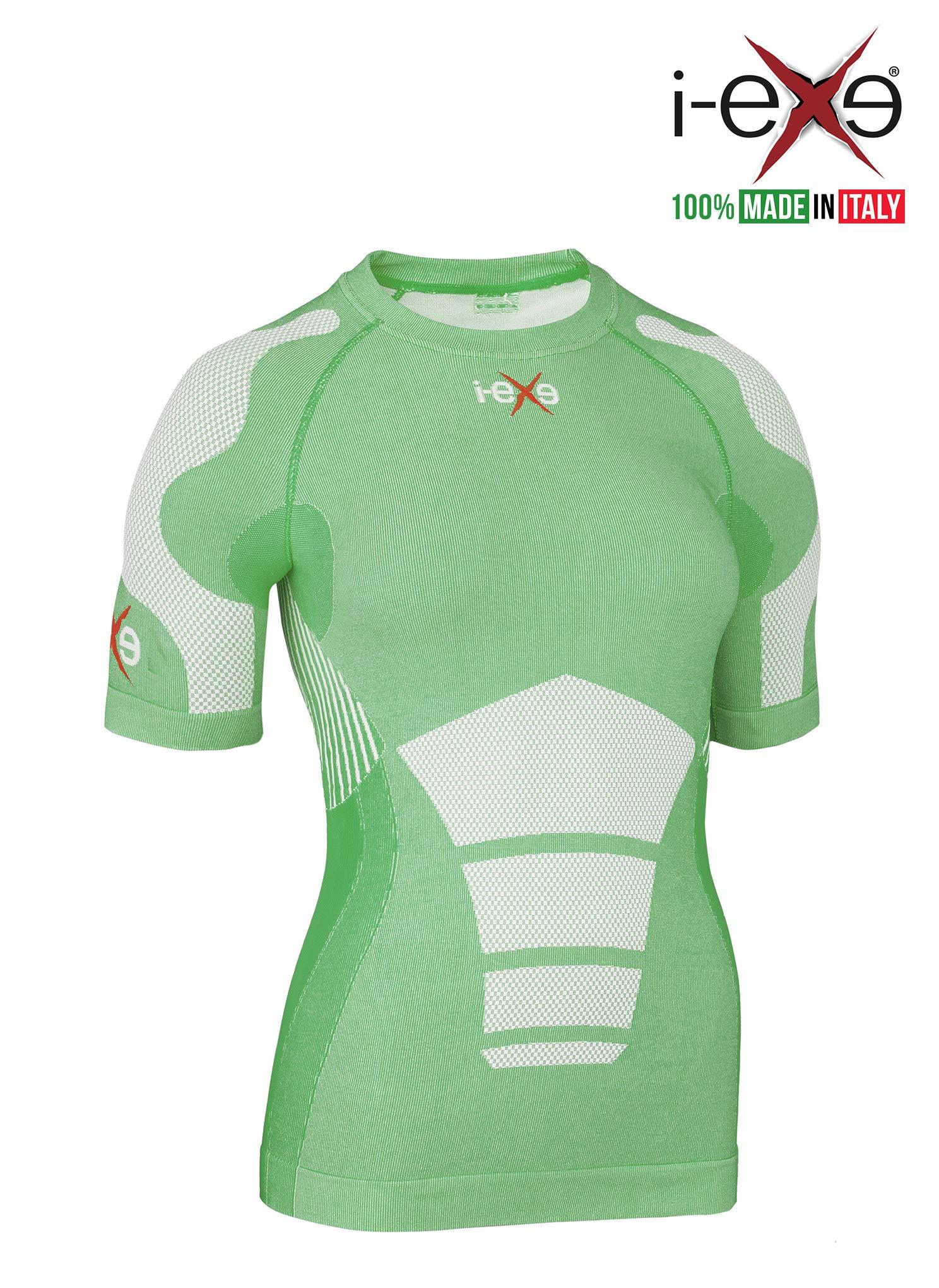 I-EXE Womens Compr Shirt CLR: Green, SZ: S