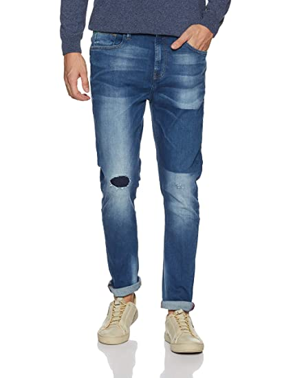 United Colors of Benetton Men s Carrot Jeans  Amazon.in  Clothing    Accessories ecac838b1d53