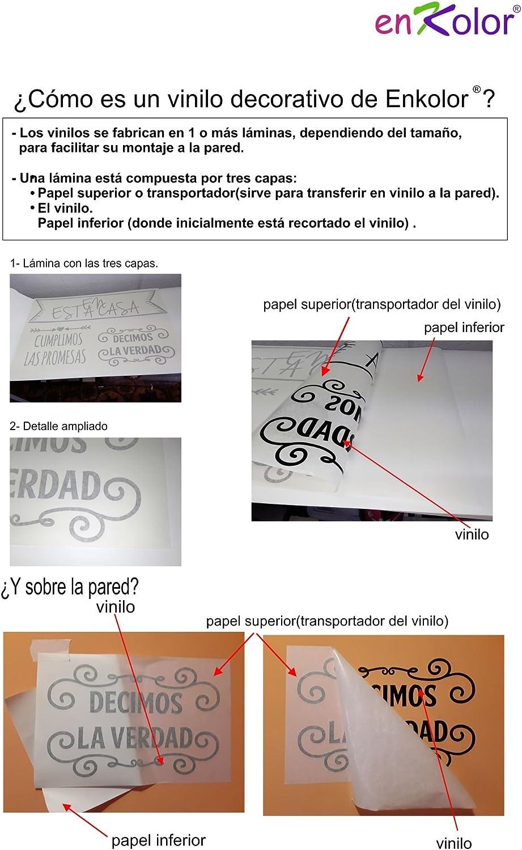 Enkolor//Vinilos Nombres Personalizados//Infantil//Hadas y Mariposas//Pegatinas Pared