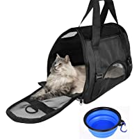 CUH Pet Carrier Portable Airline Seat Bag for Small Dog Cat