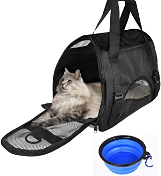 CUH Pet Carrier Portable Airline Seat Bag