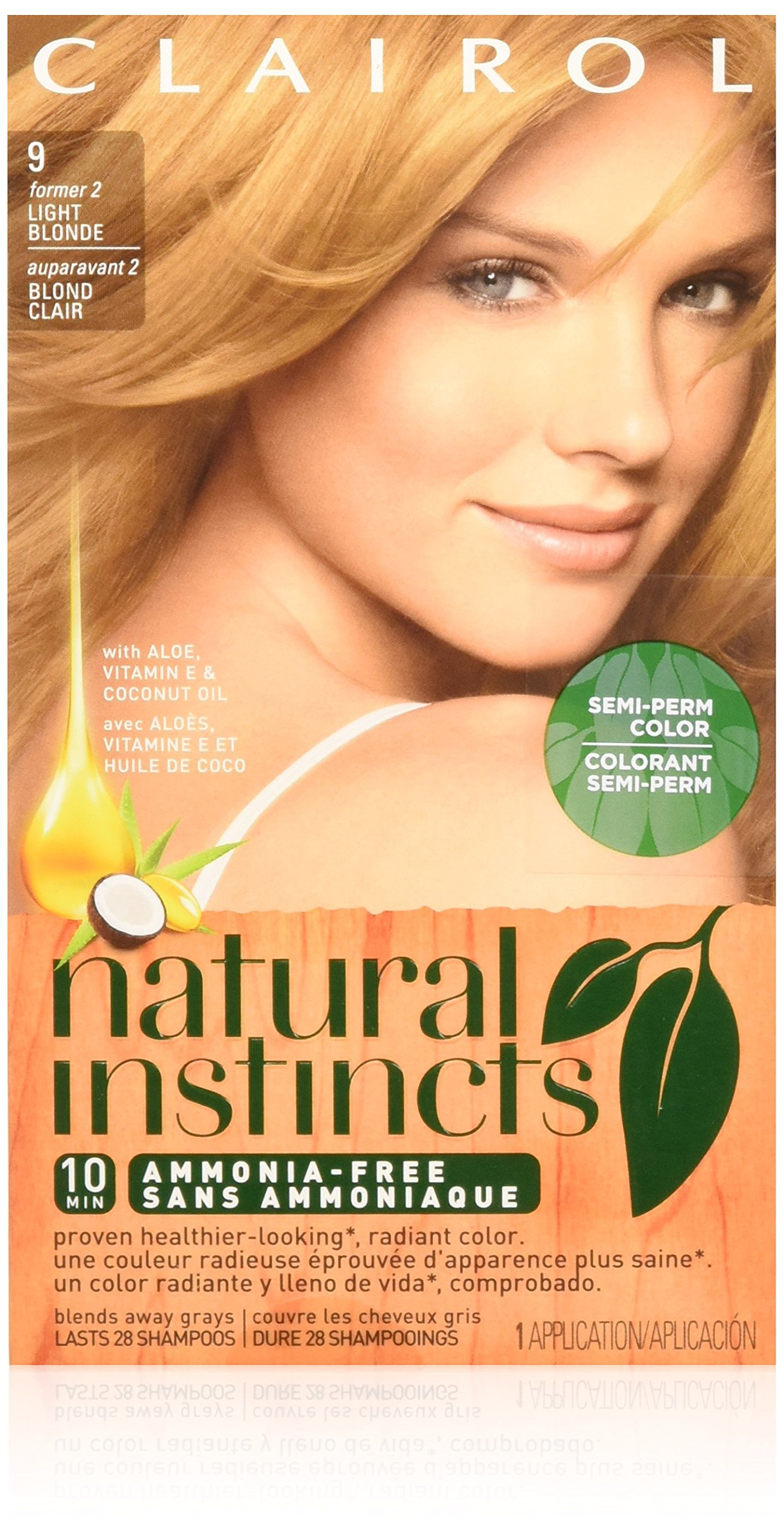 Amazon.com : Clairol Natural Instincts Hair Color Shine