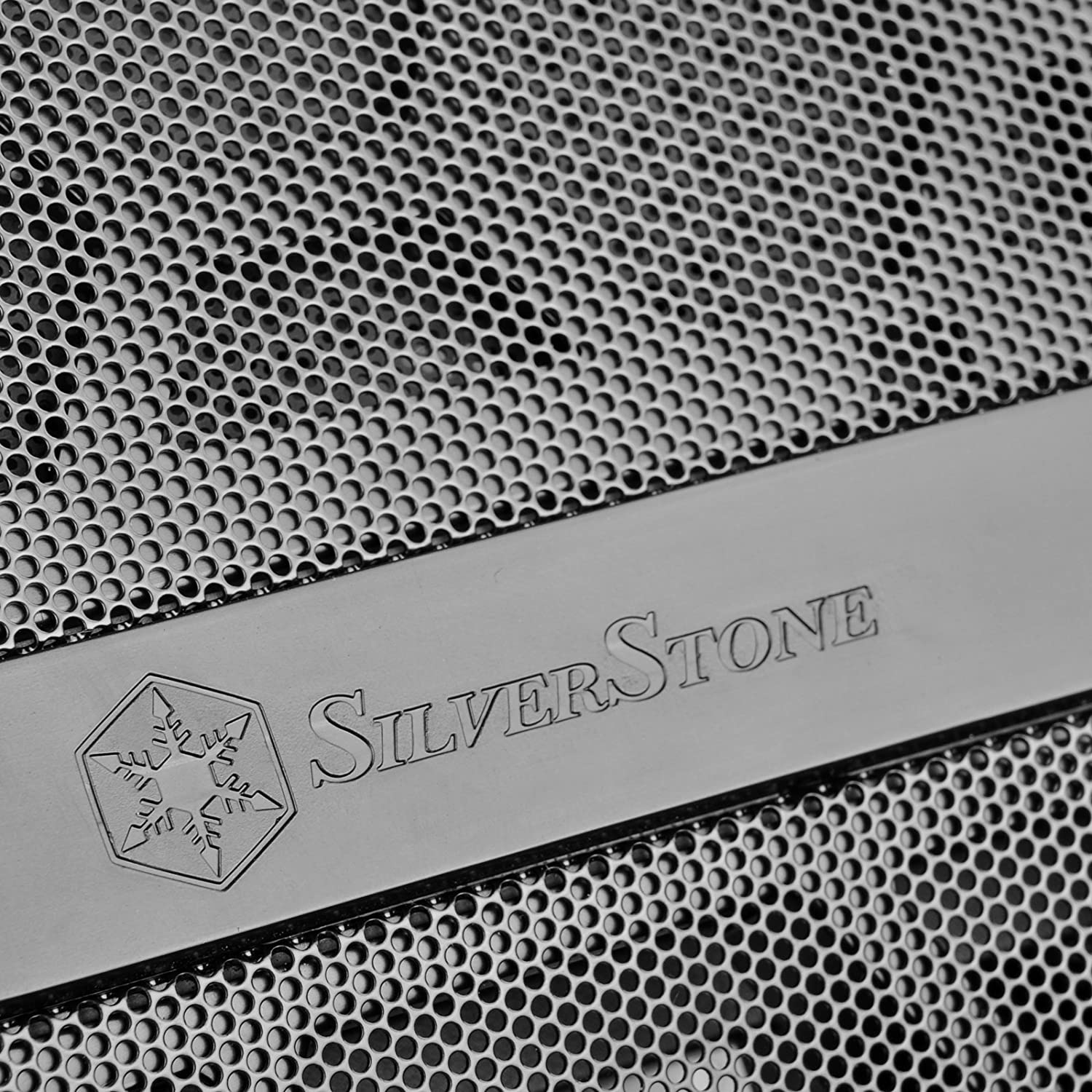 Full Tempered Glass white Silent High Airflow Performance SilverStone SST-RL07W-G Red Line Midi Tower ATX Gaming Computer Case