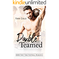 Double-Teamed: MMM First Time Football Romance book cover