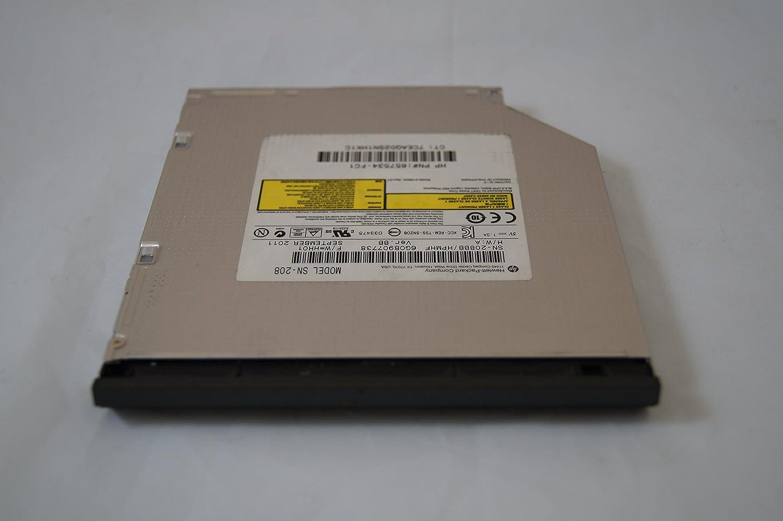 HP 8560w 8570w 8760w 8770w DVD-RW/CD-RW Model no. SN-208 P/N: 657534-FC1