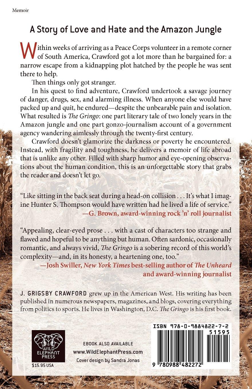 The gringo a memoir j grigsby crawford 9780988482272 amazon the gringo a memoir j grigsby crawford 9780988482272 amazon books fandeluxe Epub