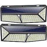 Kilponen Luz Solar Exterior【430 LED Con Carga USB】Foco Solar Exterior 270º Iluminación 4400 mAh Lámpara Solar con Sensor…