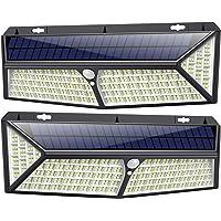 Kilponen Luz Solar Exterior【430 LED Con Carga USB】Foco Solar Exterior 270º…