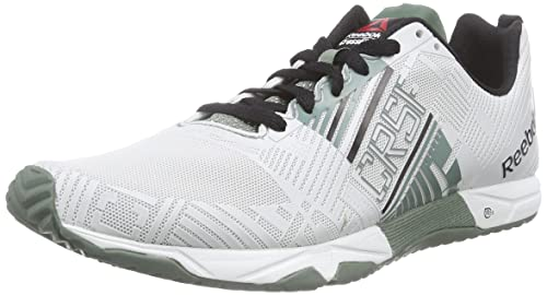 Reebok Crossfit Sprint 2.0 - Zapatillas para Hombre, Color White/Silvery Green/Black, Talla 39: Amazon.es: Zapatos y complementos