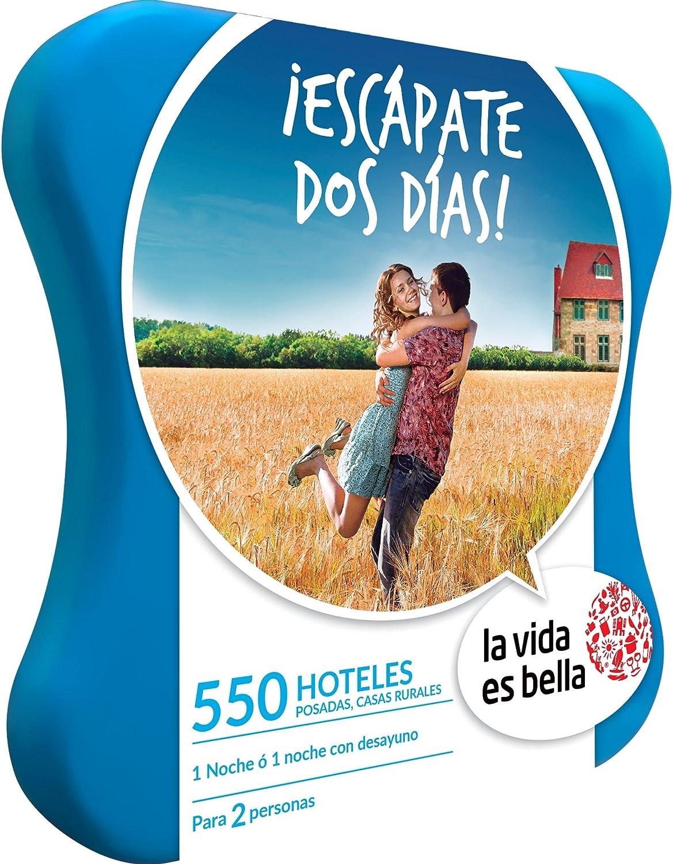 LA VIDA ES BELLA - Caja Regalo - ¡ESCÁPATE DOS DÍAS! - 550 hoteles ...