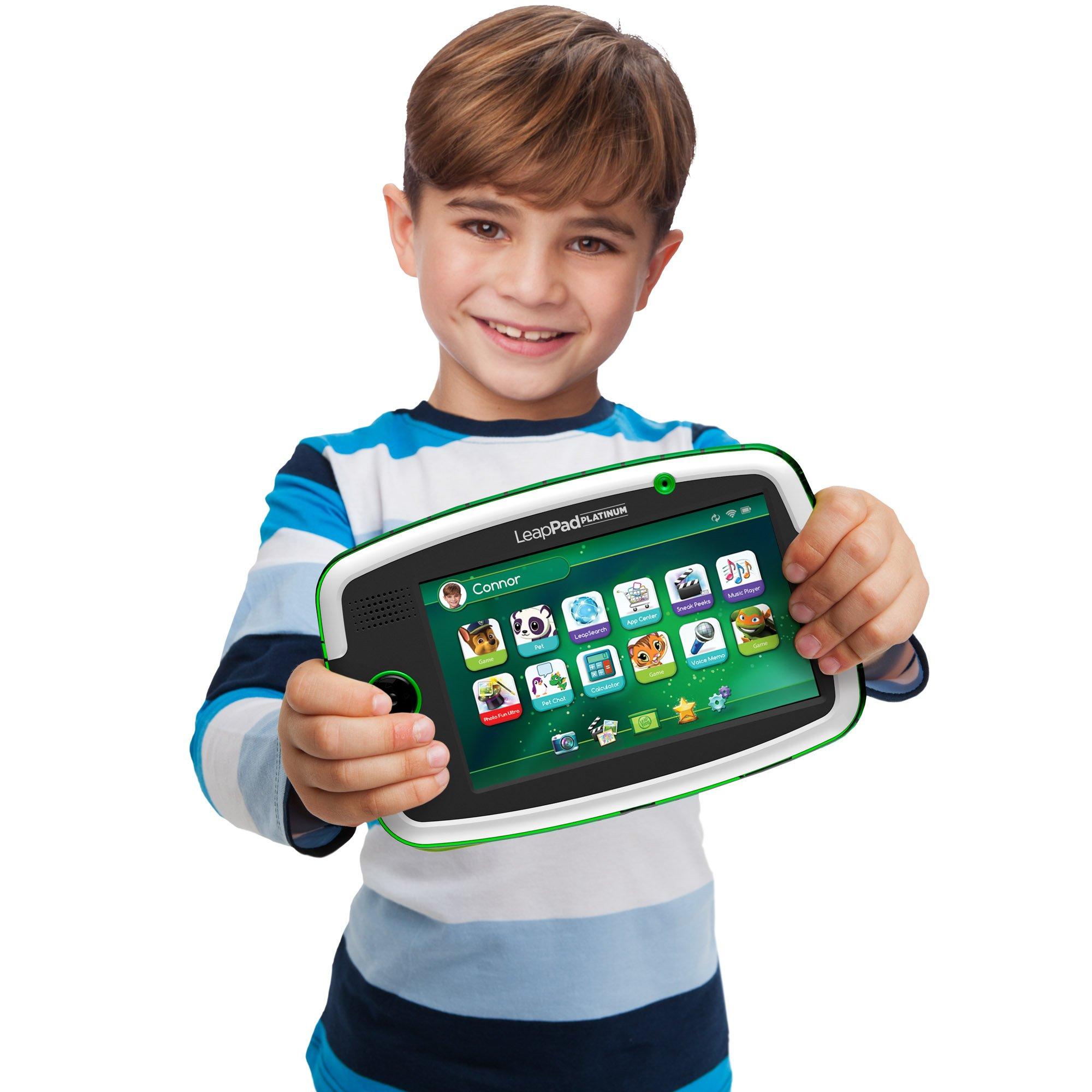 LeapFrog LeapPad Platinum Kids Learning Tablet, Green by LeapFrog. (Image #10)