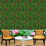 Muren Interlocking gradening mat with Artificial but Natural Looking Grass for Covering roof, Wall, Garden, Home Decor