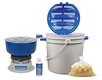Frankford Arsenal Platinum Series 110V 7L Rotary Tumbler and Media Separator for Cleaning and Polishing for Reloading 3