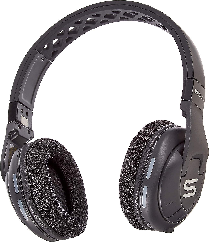 SOUL X-TRA Auriculares inalámbricos con Bluetooth 4.0 para Smartphone (iPhone 7, Samsung Galaxy S8 y Mucho más), Negro: Amazon.es: Electrónica