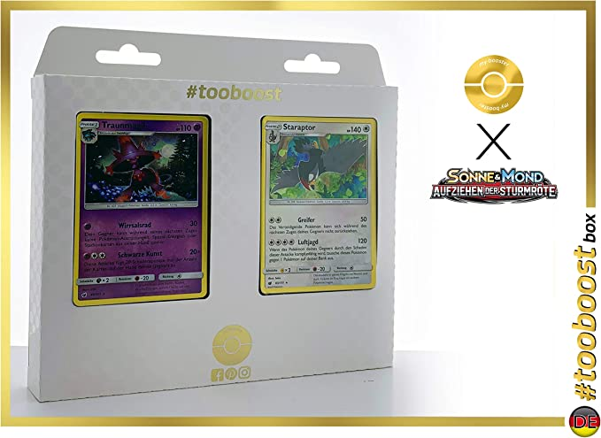 Sonne und Mond Pokemon 40//111 Traunmagil Aufziehen der Sturmröte