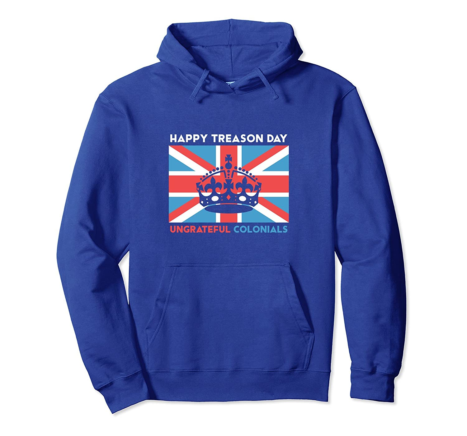 4th of July Hoodie Happy Treason Day Gift for Men Women-AZP