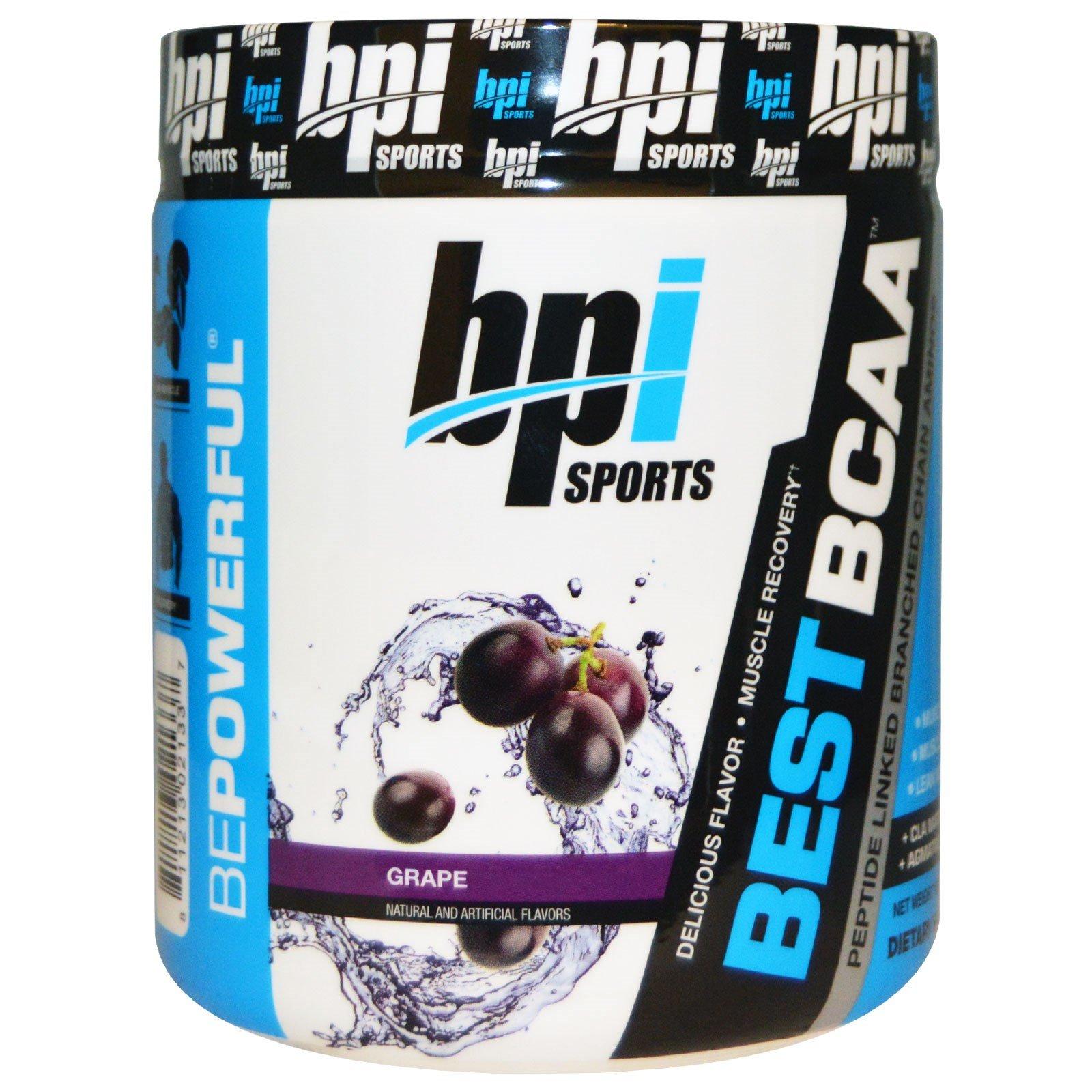 BPI Sports, Best BCAA, Grape, 10.58 oz (300 g) - 3PC