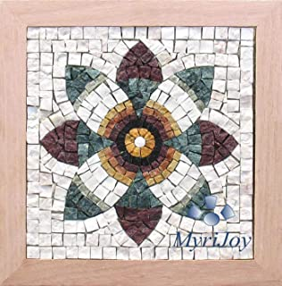 Alea mosaic mosaic kit 59 square 15x15cm horse amazon make your own roman mosaics diy kit pomegranate flower different gifts for women do solutioingenieria Image collections