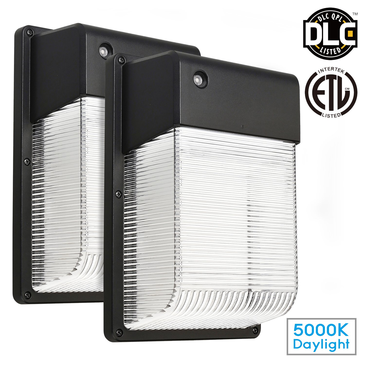 2 pack 16w dusk to dawn led wall pack photocell outdoor led wall mount light ebay. Black Bedroom Furniture Sets. Home Design Ideas