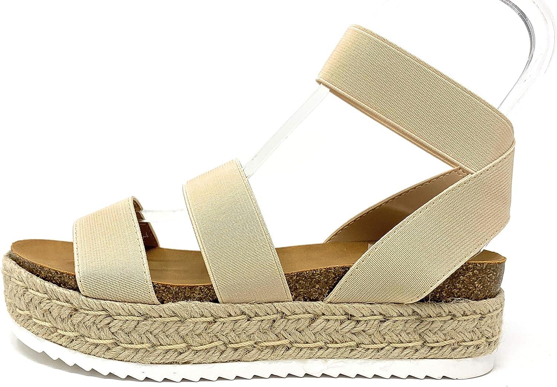 Spring Flatform Espadrille Wedge Sandal