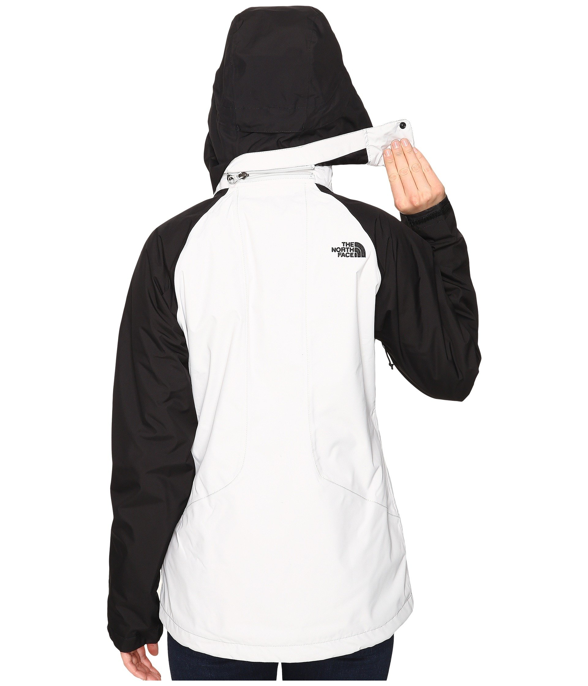North Face Womens Boundary Triclimate Jacket - Large - Lunar Ice Grey/TNF Black by The North Face (Image #4)