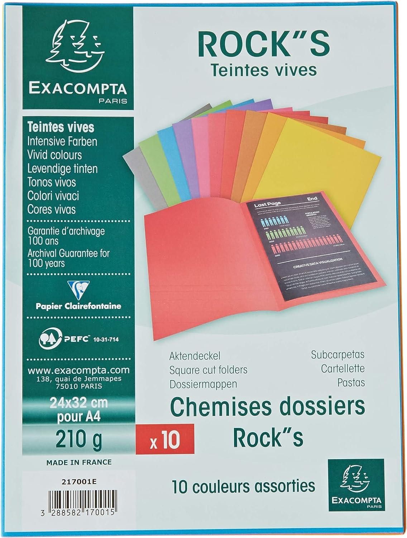 EXACOMPTA Aktendeckel FOREVER 250 DIN A4 violett 100 Aktendeckel 220 g//qm